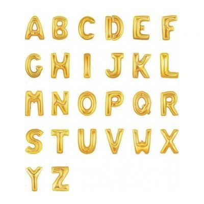 Фольгированные шары буквы с гелием