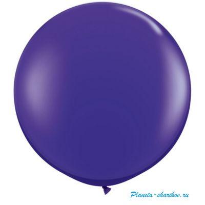 """Большой шар с гелием """"Фиолетовый"""""""