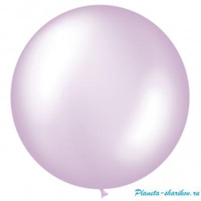 """Большой шар с гелием """"Фиолетово-жемчужный"""""""
