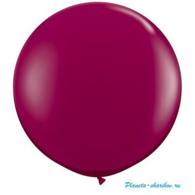 "Большой шар с гелием ""Пурпурный"""