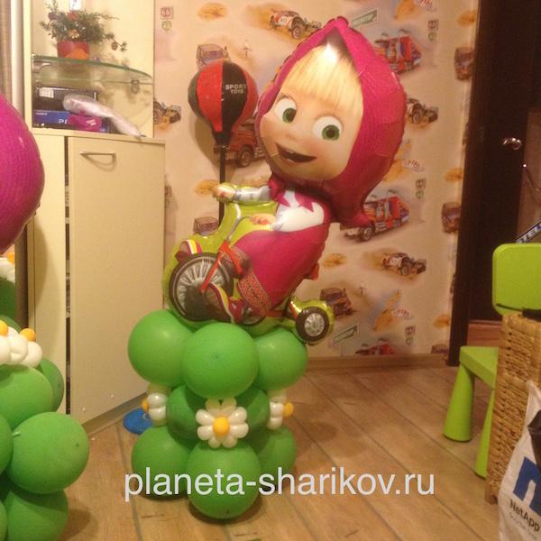 Как сделать машу из шаров фото 381